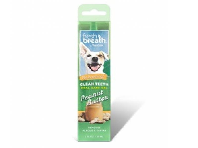TROPICLEAN Peanut Butter – Почистващ гел против зъбен камък и плака_59 ml