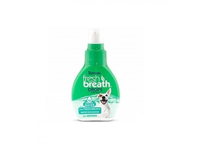 TROPICLEAN DROPS for PET – ДОБАВКА ЗА ВОДА за подобряване дъха на домашния любимец _65 ml