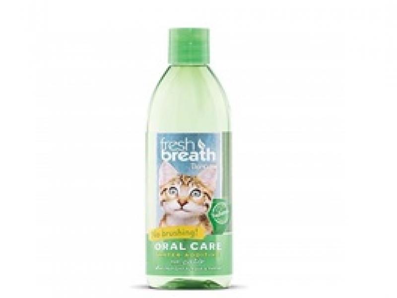 TROPICLEAN CAT – ДОБАВКА ЗА ВОДА за подобряване дъха на домашния любимец _473 ml