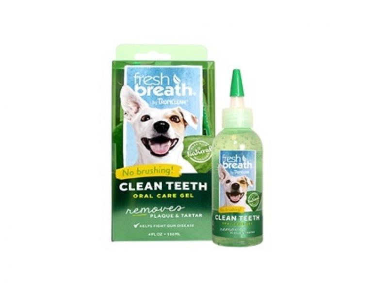 TROPICLEAN  – Почистващ гел против зъбен камък и плака _118 ml
