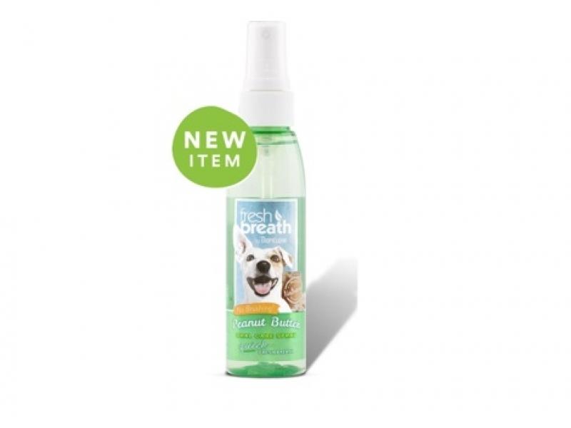 Дентален спрей с фъстъчено масло за Кучета Tropiclean Oral Care Spray - Peanut 118 ml