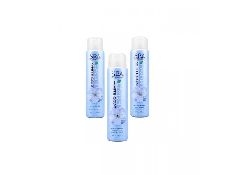 SPA шампоан за бяла козина TropiClean SPA White Coat Shampoo