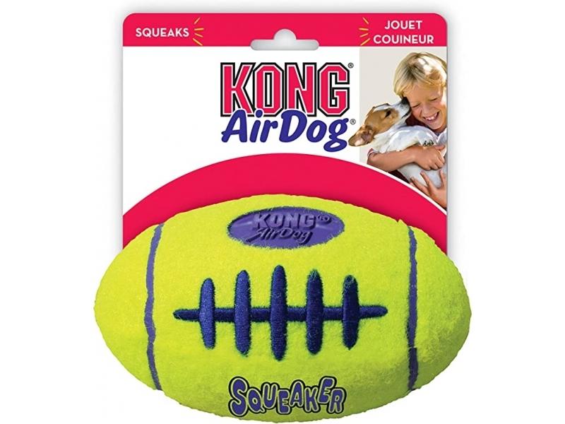 Играчка за кучета Kong AIR SQUEAKER FOOTBALL Large