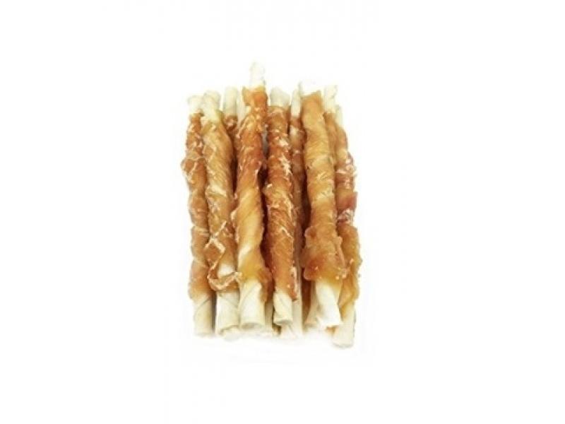 Усукани солети с пилешко CHICKEN BREAST WRAPPED RAWHIDE STIX 100/340 гр.