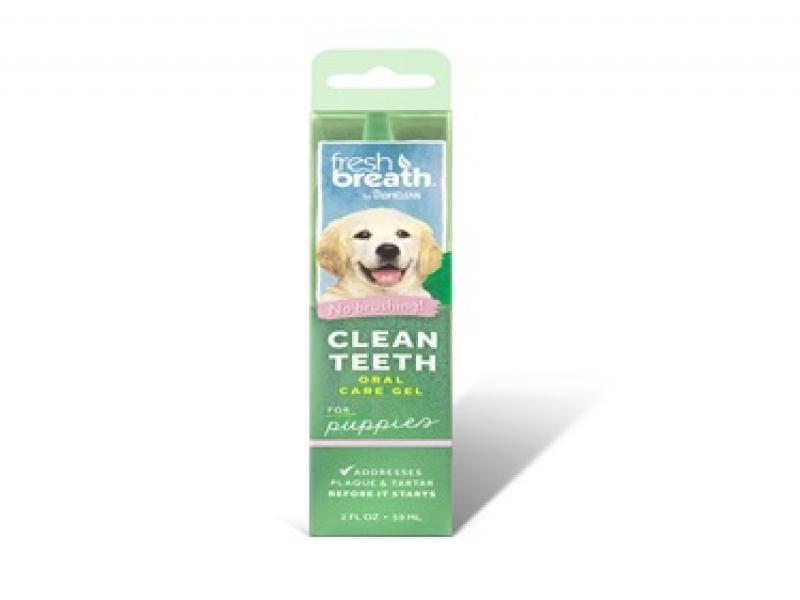 TROPICLEAN Fresh breath Puppies– Почистващ гел против зъбен камък и плака_59 ml