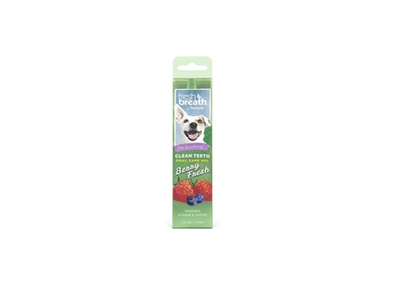 TROPICLEAN Berry Fresh Gel– Почистващ гел против зъбен камък и плака_59 ml