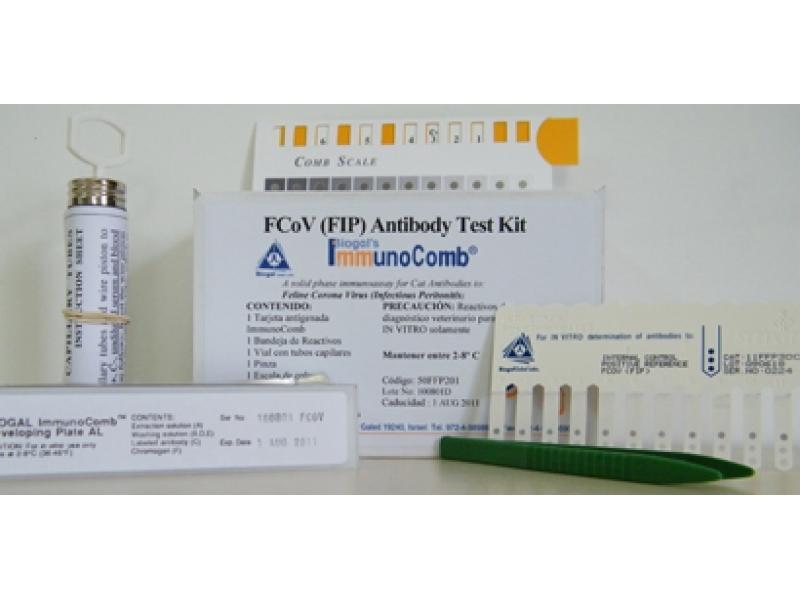 Котешки инфекциозен перитонит - ImmunoComb Feline Corona Virus (FIP) Kit