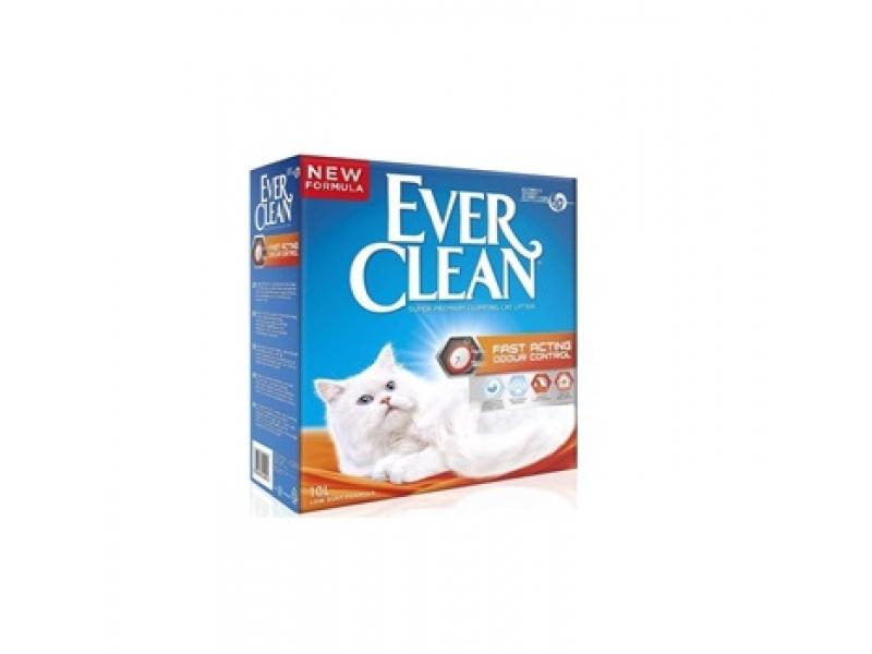 Котешка тоалетна EVER CLEAN® Fast Acting Odour Control - разфасовка от 6L или 10L