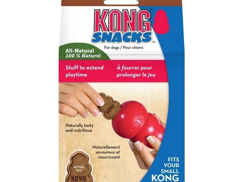 Бисквитки с черен дроб за Кучета Kong Snacks Liver Large, 312 гр.