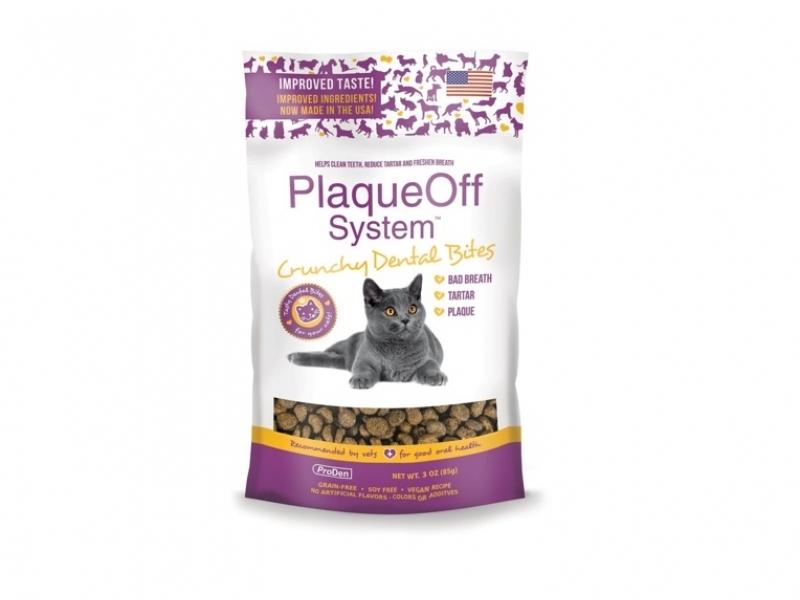 Лакомство за Котки SWEDENCARE PlaqueOff®Dental Bites, 60 г