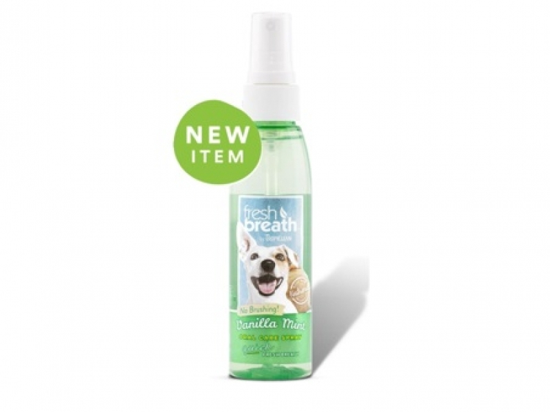 Дентален спрей с  Ванилия за Кучета Tropiclean Oral Care Spray - Vanilla 118 ml