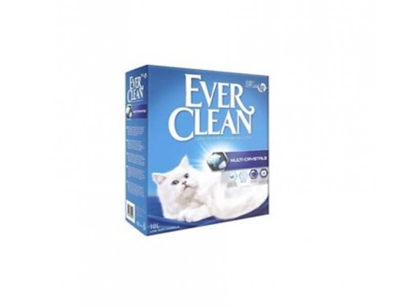 Котешка тоалетна EVER CLEAN® Multi-Crystals - разфасовка от 6L или 10L