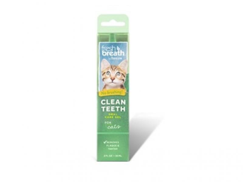 TROPICLEAN  for CAT – Почистващ гел против зъбен камък и плака_59 ml