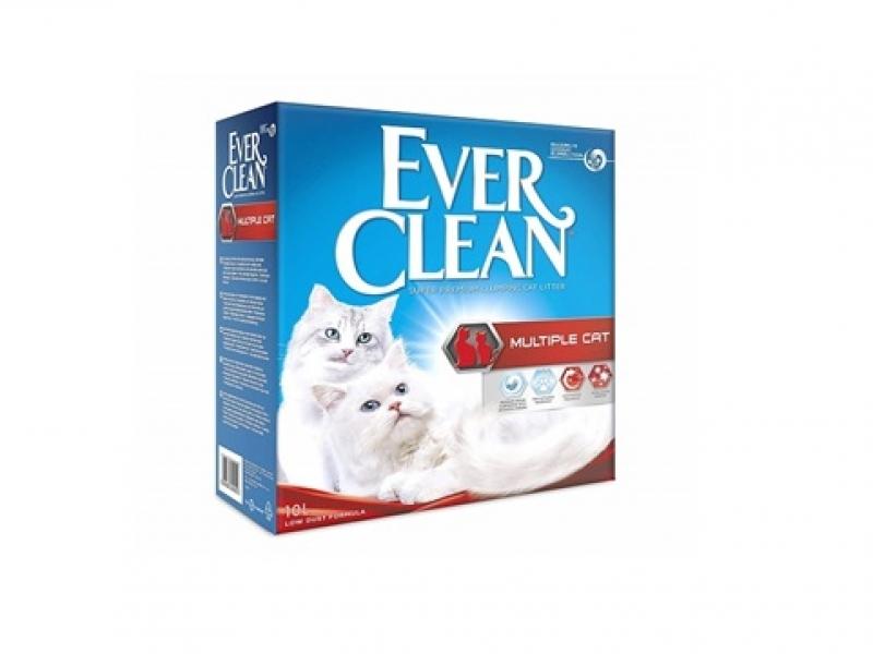 Котешка тоалетна EVER CLEAN® MULTIPLE Cat - за повече котки, 6L или 10L