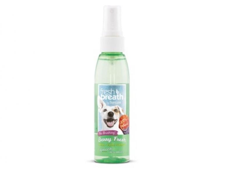 Дентален спрей с горски плодове за Кучета Tropiclean Oral Care Spray - Berry 118 ml