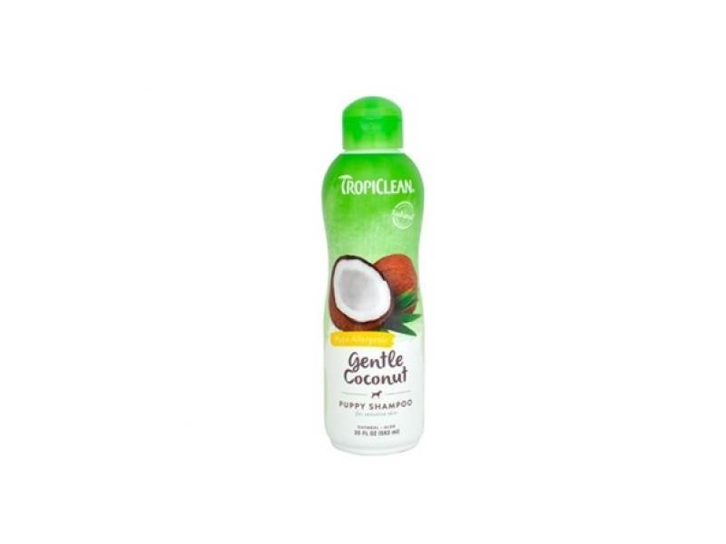 Шампоан - Хипоалергичен за чуствителна кожа с Кокос - Tropiclean Gentle Coconut Shampoo