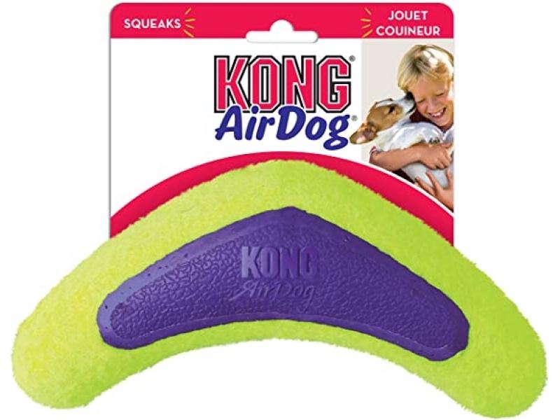 Играчка за кучета Kong Air Squeaker Boomerang Medium