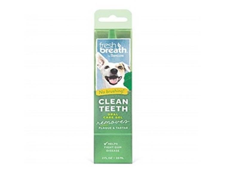 TROPICLEAN Fresh breath Gel– Почистващ гел против зъбен камък и плака_59 ml