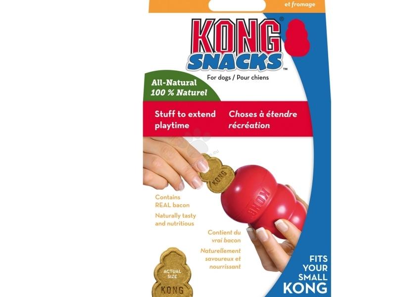 Бисквитки за Кучета Kong Snacks Bacon and Cheese Small, 198 гр.