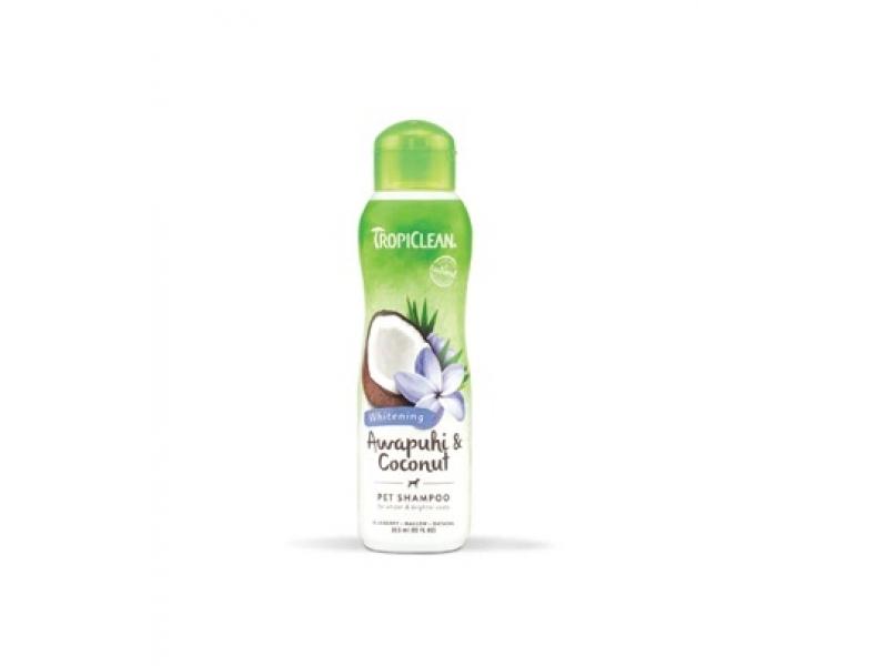 Шампоан за бяла и лъскава козина - Tropiclean Awapuhi and Coconut Shampoo