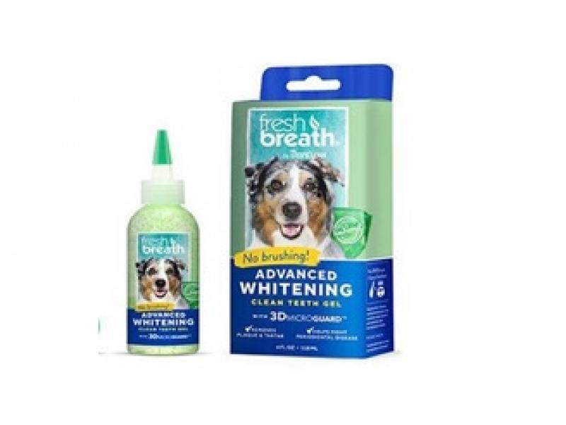 TROPICLEAN ADVANCED WHITENING Gel – Почистващ гел против зъбен камък и плака _118 ml