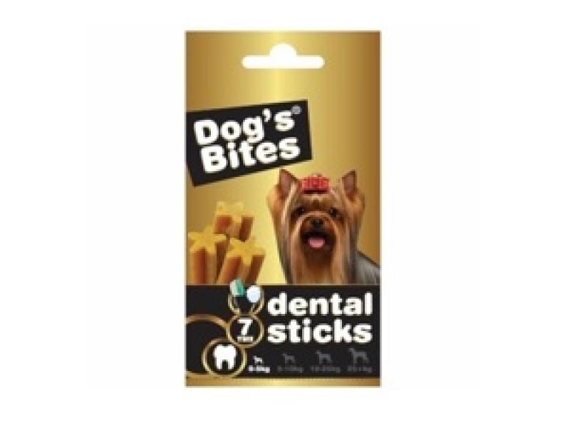 Дентални пръчици за кучета с тегло до 5 кг. DOG BITES DENTAL STICKS