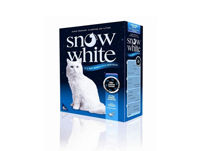 Котешка тоалетна - Snow White Extra Power Scented 6L