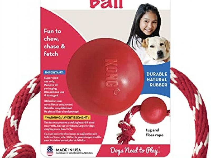 Играчка за кучета Kong BALL ROPE Small