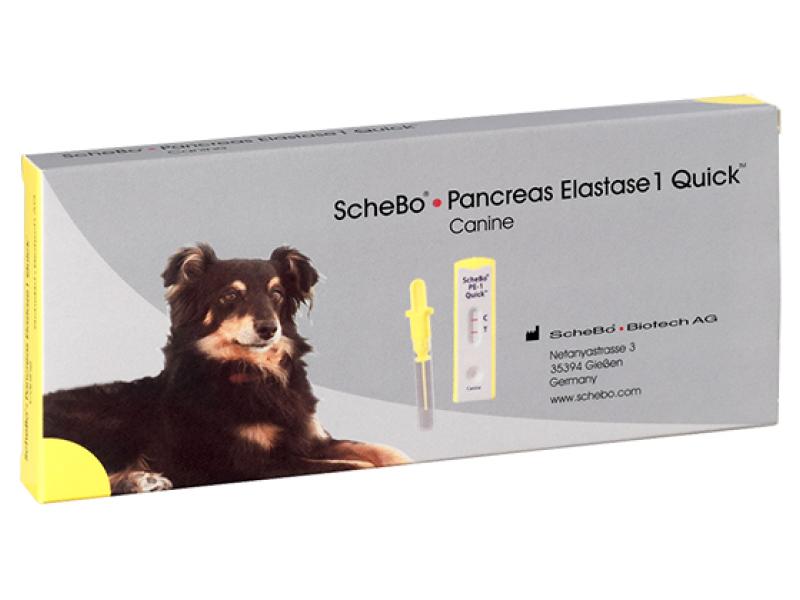 ScheBo Панкреатична еластаза 1 Quick  – Куче
