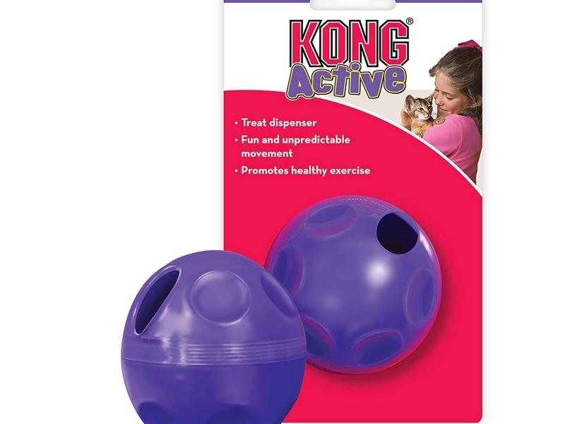 Играчка за котки Kong Cat Treat Ball