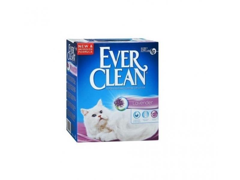 Котешка тоалетна EVER CLEAN® Lavender - ароматизирана 6L