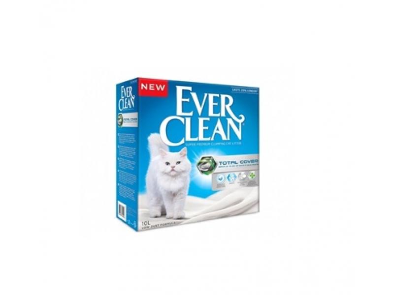 Котешка тоалетна EVER CLEAN® Total Cover - разфасовки от 6L или 10L