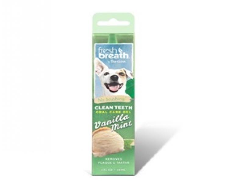 TROPICLEAN Vanilla mint– Почистващ гел против зъбен камък и плака_59 ml