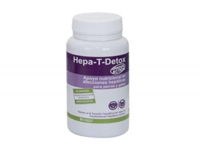 HEPA -T- DETOX - Хранителна добавка за Кучета и Котки с чернодробни проблеми