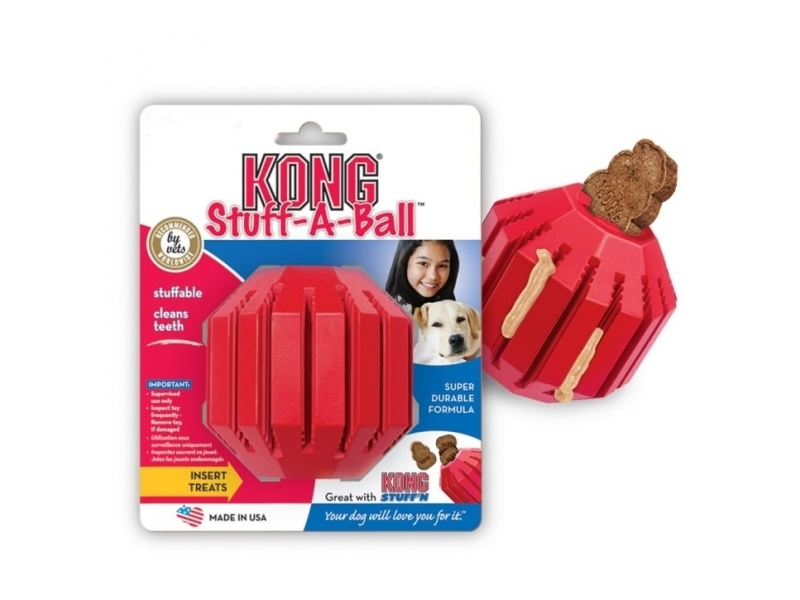 Играчка за кучета Kong Stuff-A-Ball Small