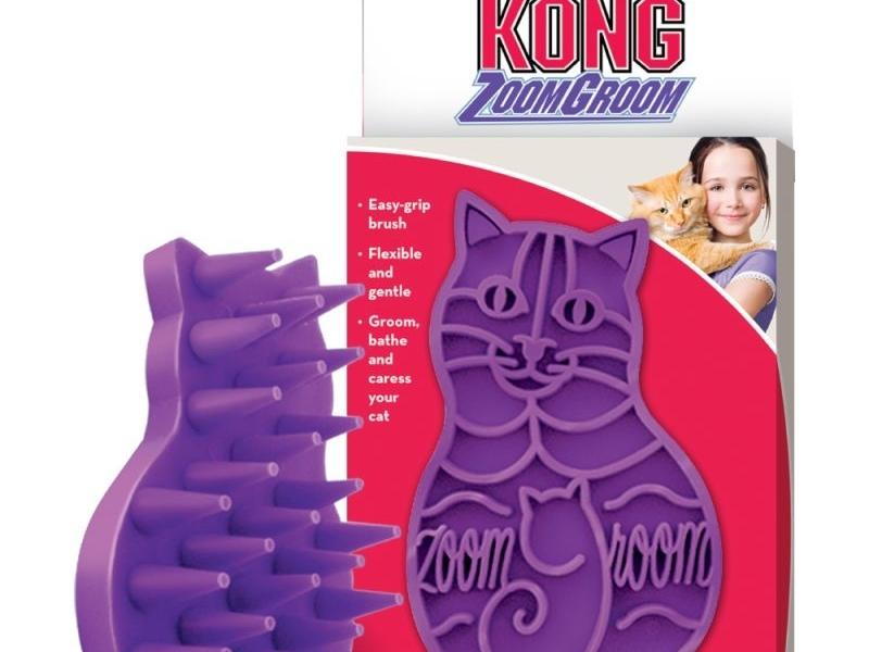 Играчка за котки Kong Zoom Groom