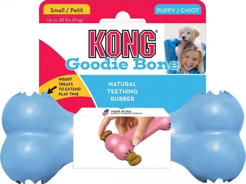 Играчка за кучета Kong PUPPY Goodie Bone Small
