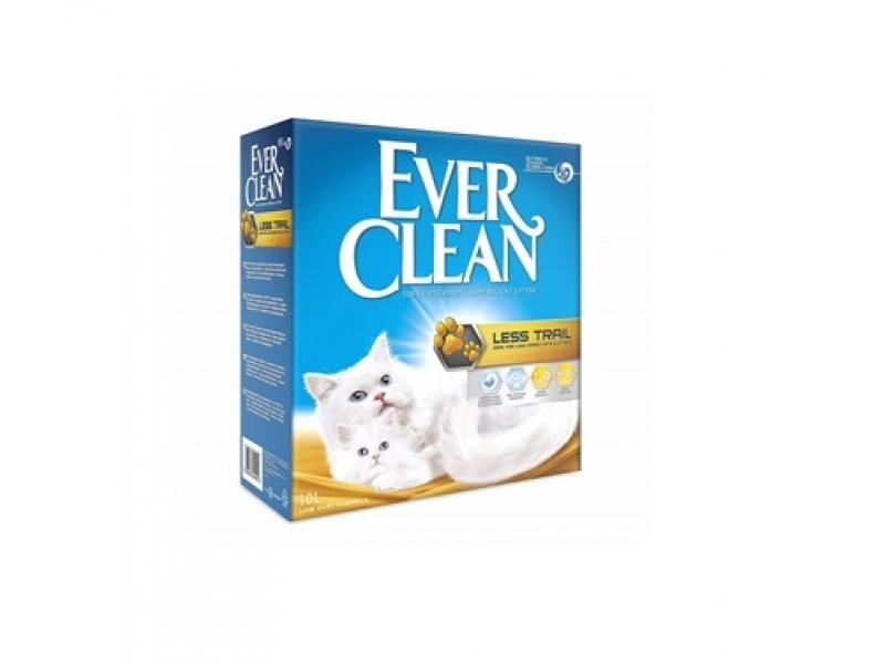 Котешка тоалетна EVER CLEAN® LESS TRAIL - за дългокосмести котки и котенца, 6L или 10L