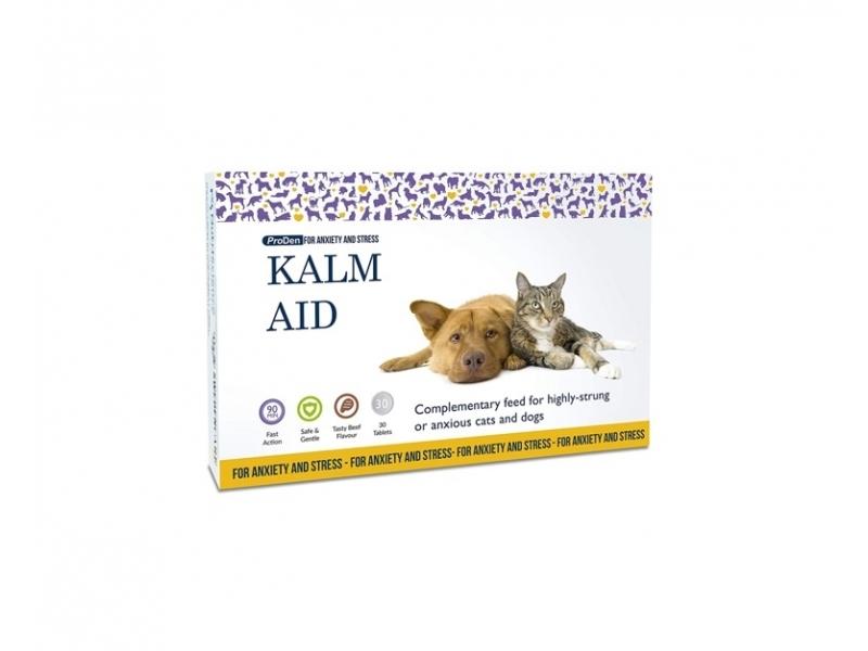 KalmAid Таблетки /30 бр./  Облекчава стреса и безпокойството при Кучета и Котки
