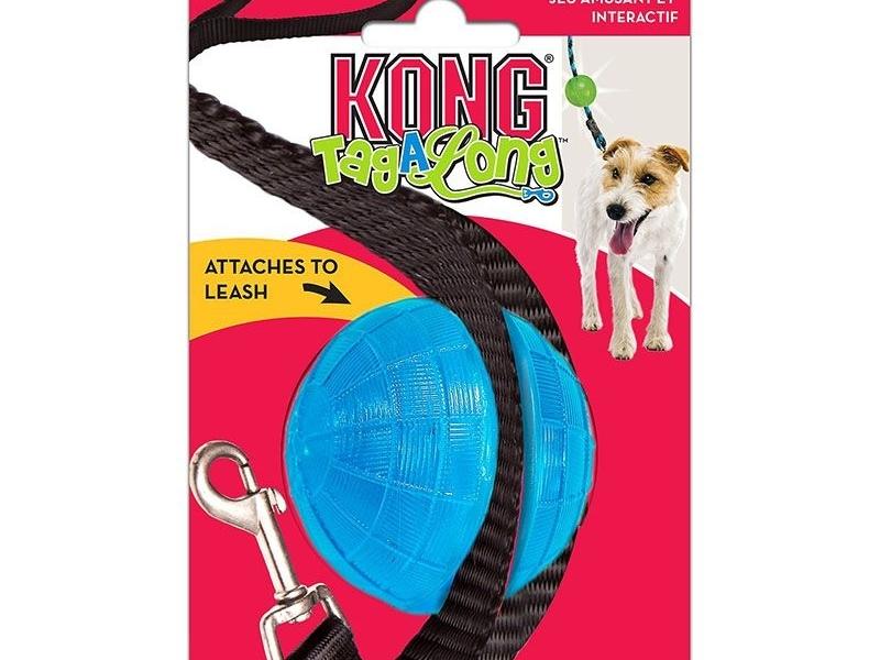Играчка за кучета Kong TagALong Ball Medium